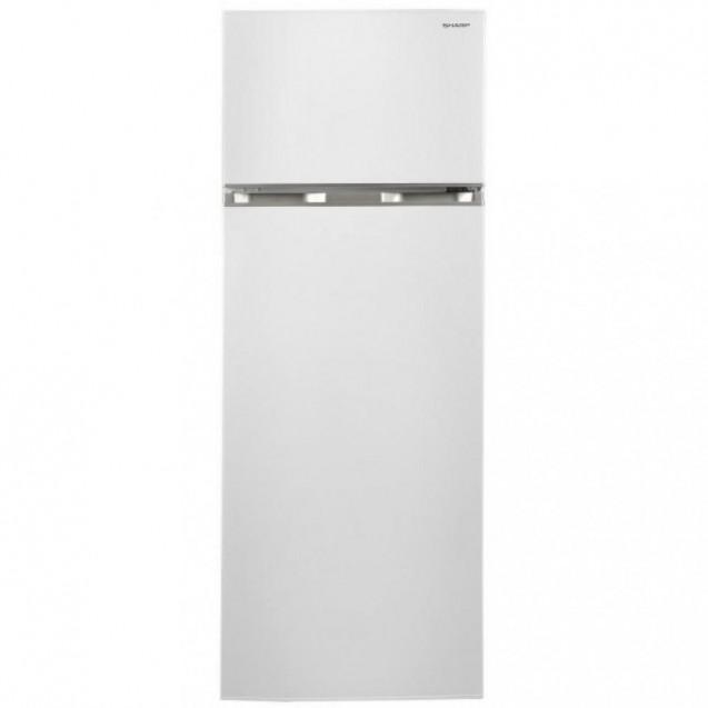 Холодильник з морозильною камерою Sharp SJ-T1227M5W-UA